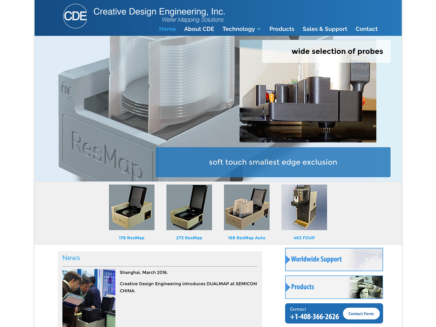 Creative-Design-Engineering---Technology Website Design
