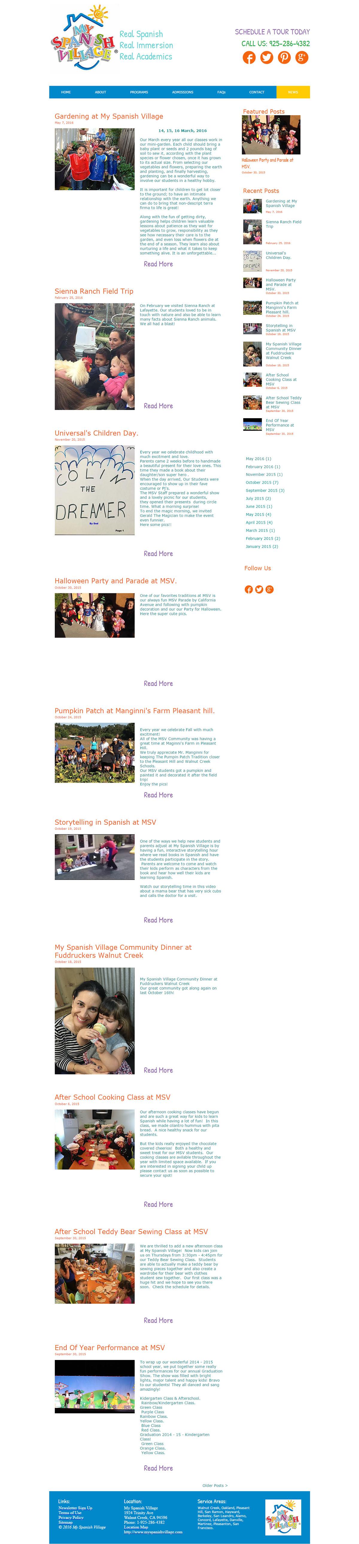 My-Spanishvillage-school-blogs