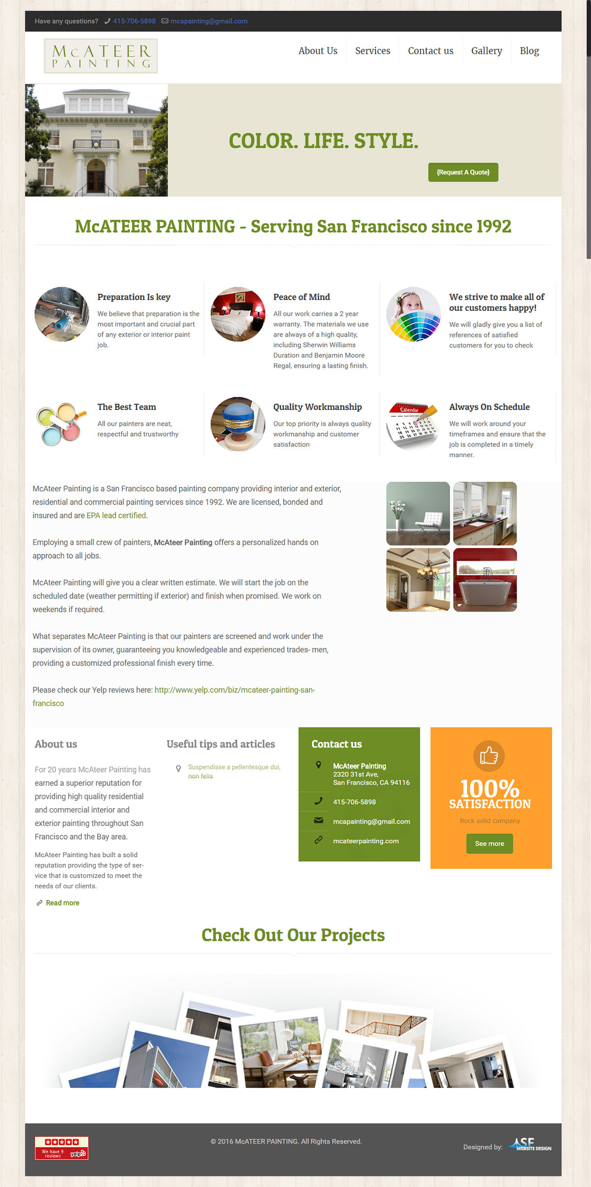 Mcatter-homepage