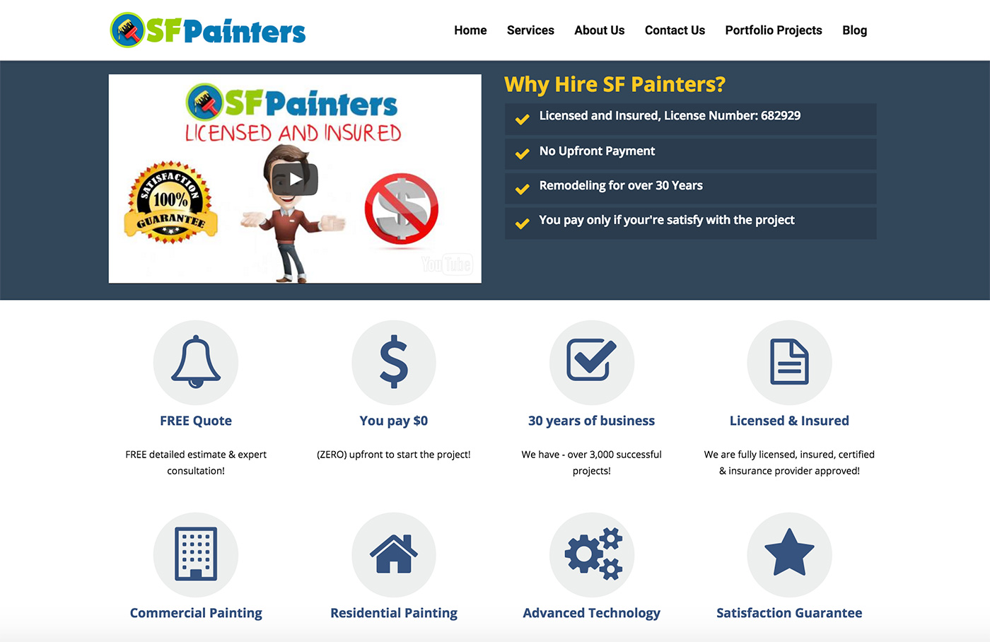 website-design-for-painters
