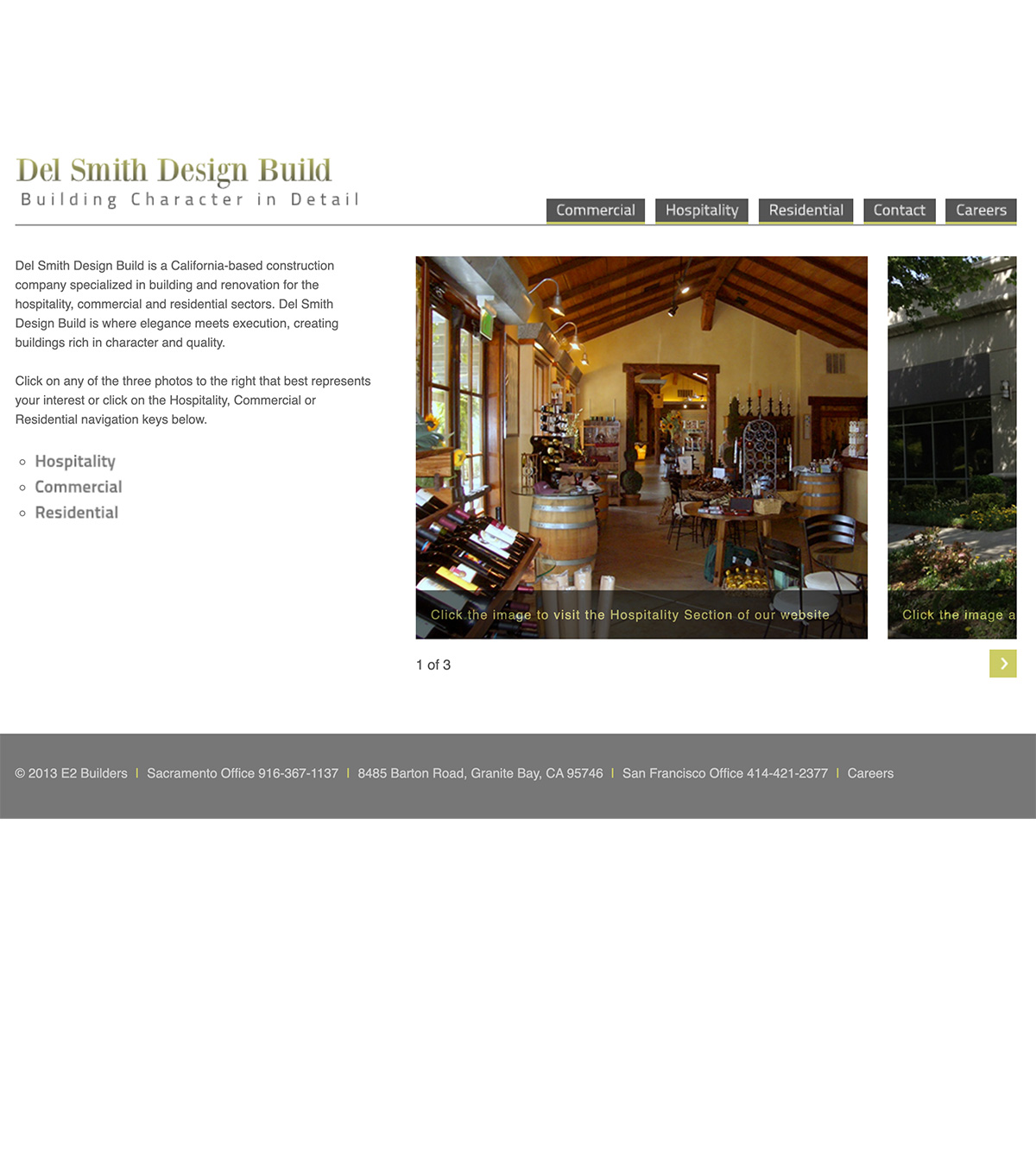 DelSmithDesignBuild before image design