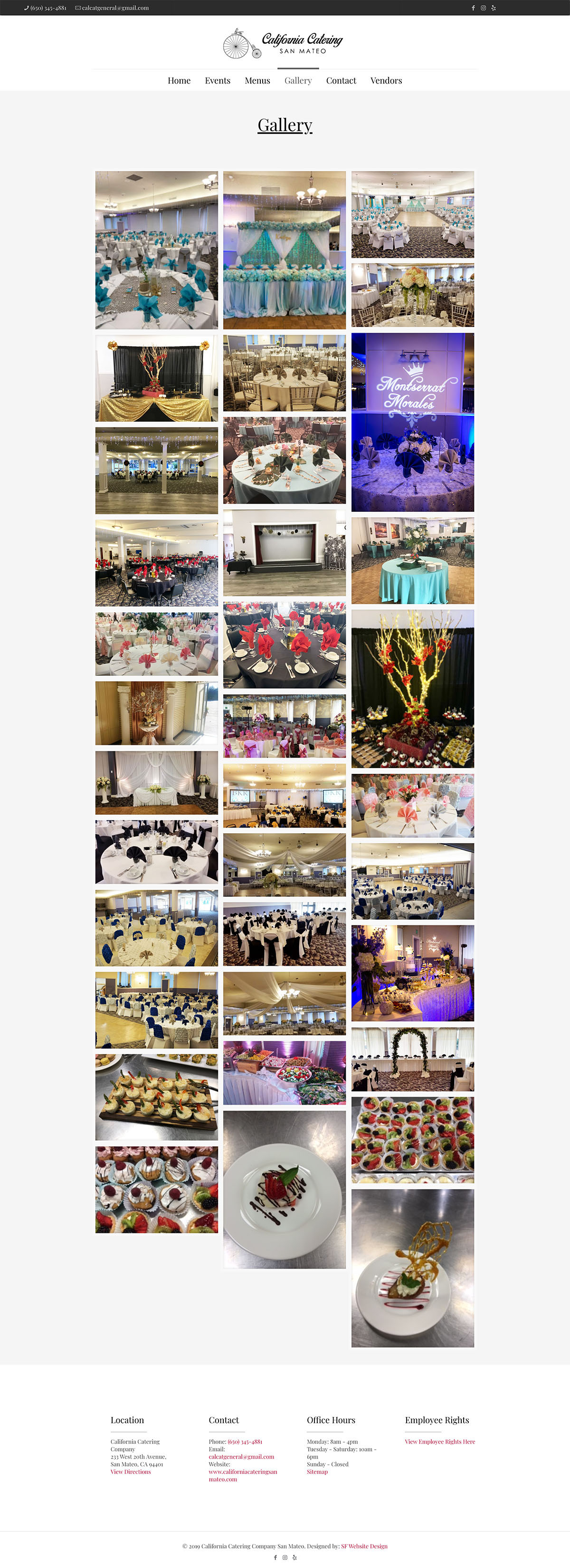 Corporate and Social Event Gallery Design